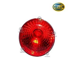 Фонарь габаритный Hella D90 задний, красный (R5W) б/уп.